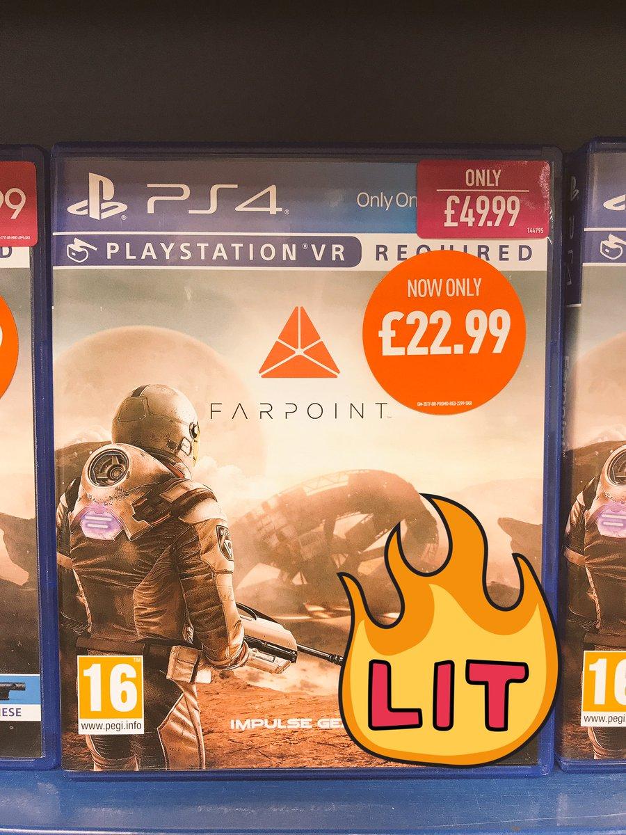 Great time to pick up some fantastic VR games!  Not stepped into VR yet? Prices start at only £299.99  #SonyVR #PSVR<br>http://pic.twitter.com/2WQA5wDtUY