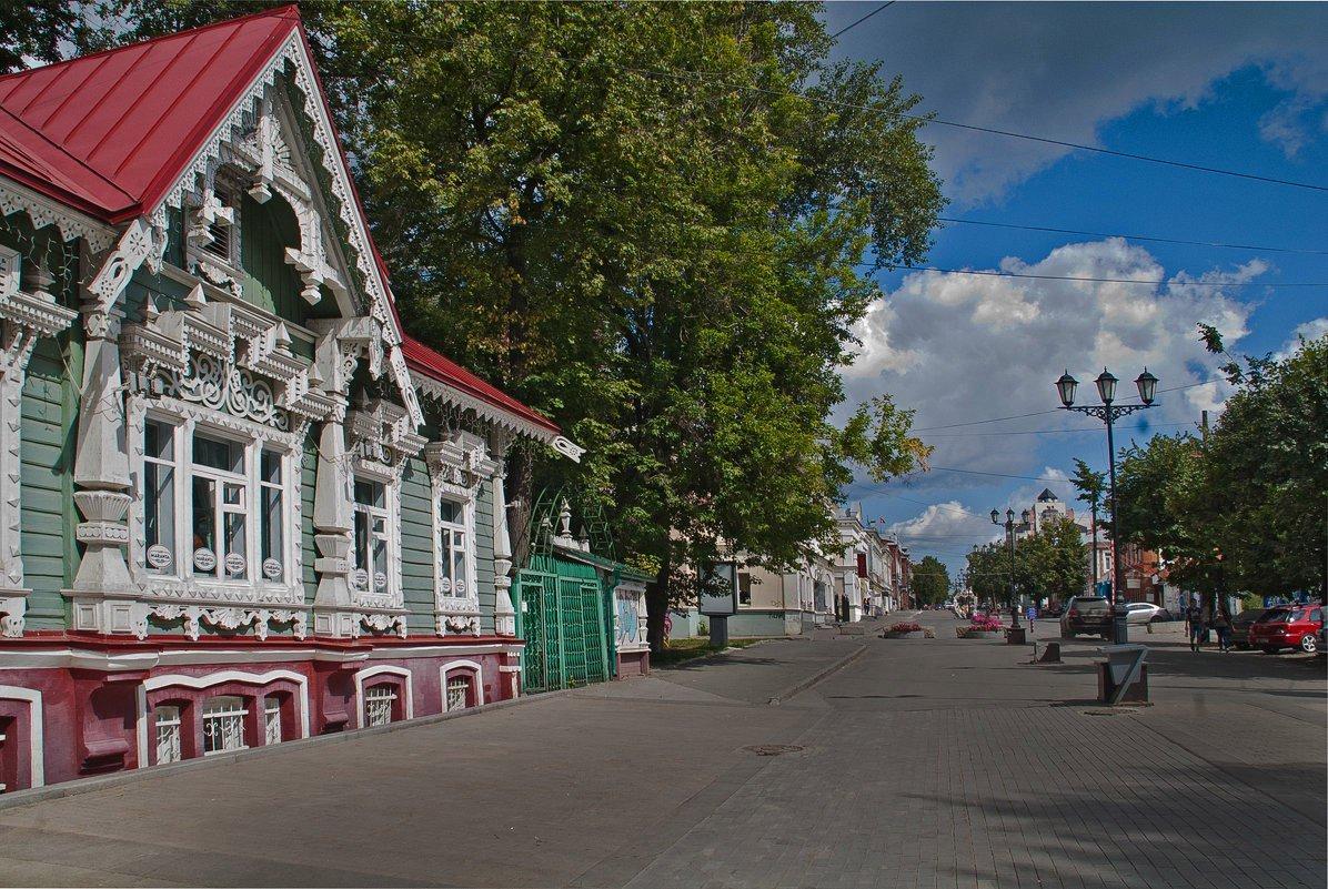 Фото улиц и домов в перми
