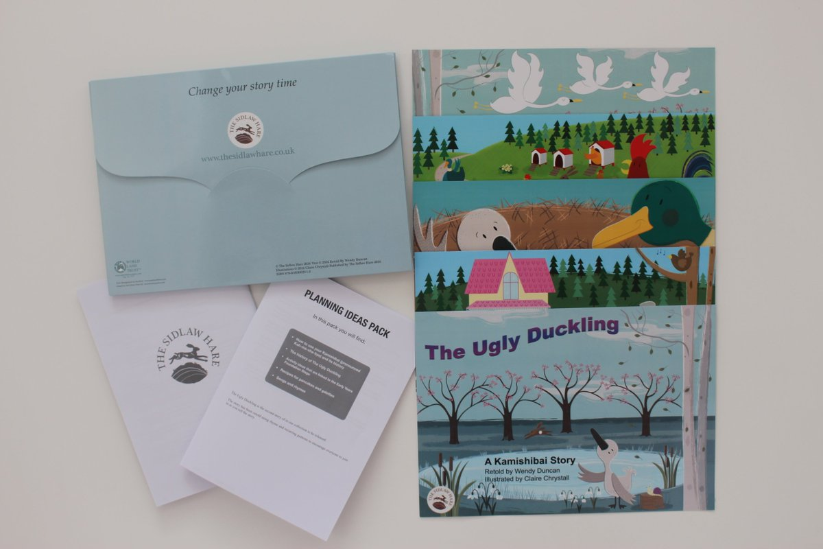 @InverPrimary check your inbox (maybe junk too) for your discount voucher for The Ugly Duckling which has finally hatched #kamishibai <br>http://pic.twitter.com/Lnlt5VUBtx
