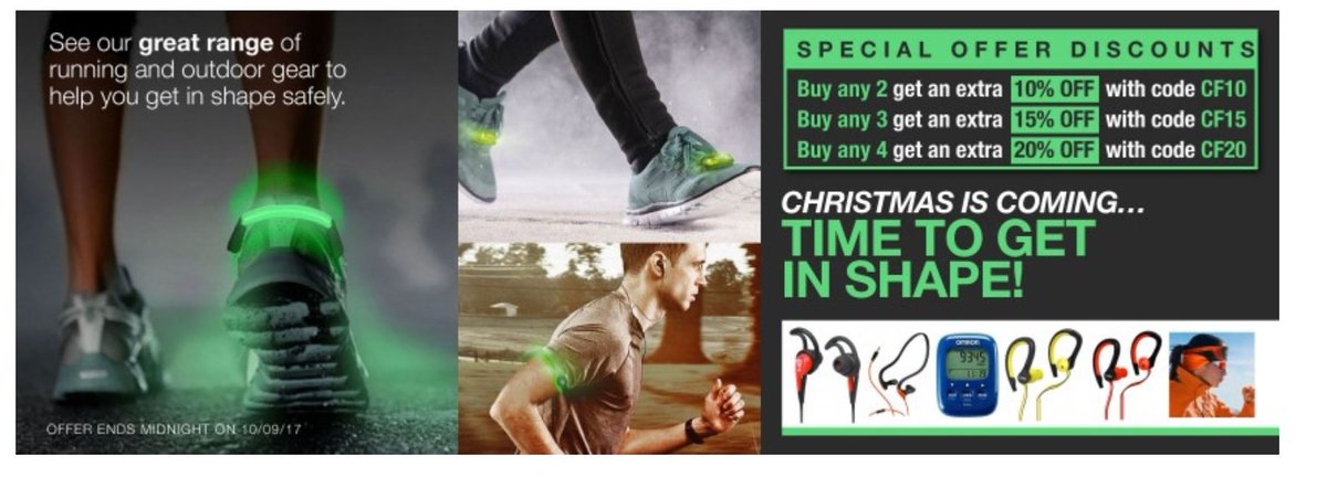 Christmas is coming time to get fit   http:// ow.ly/vKI930eZtSX  &nbsp;    #RT #Follow #Win Share #multibuy any 2/3/4 Save Extra 10/15/20% off @Trdeals<br>http://pic.twitter.com/fui70LdlxC