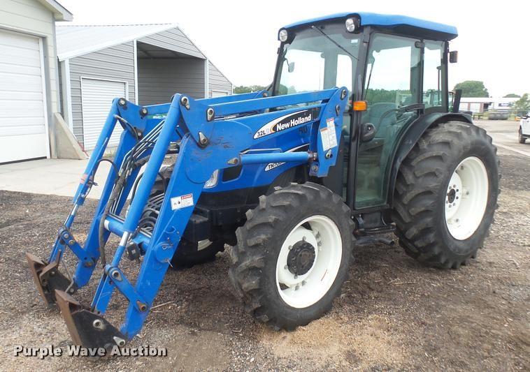 New holland tn70da tractor Manual