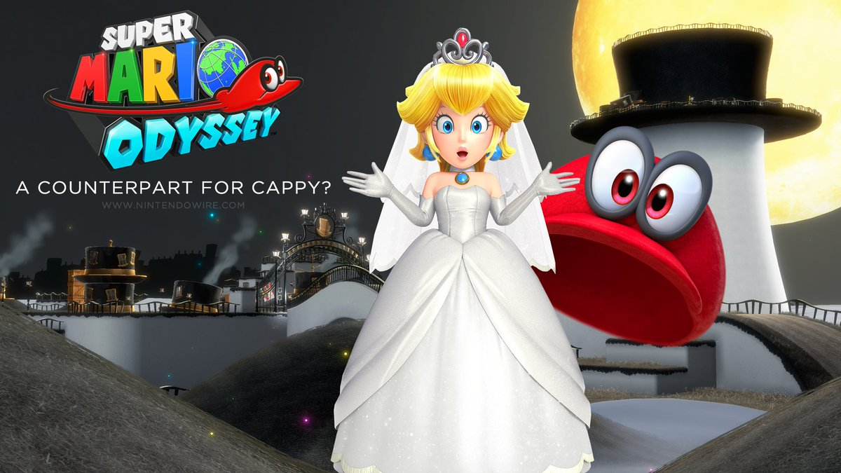 Nintendo Wire On Twitter We Ve Theorized What The Presence Of Princess Peach S Cappy Eyed Tiara Could Mean For Super Mario Odyssey Https T Co Jejlqd6hyl Https T Co 6npsdy5veq