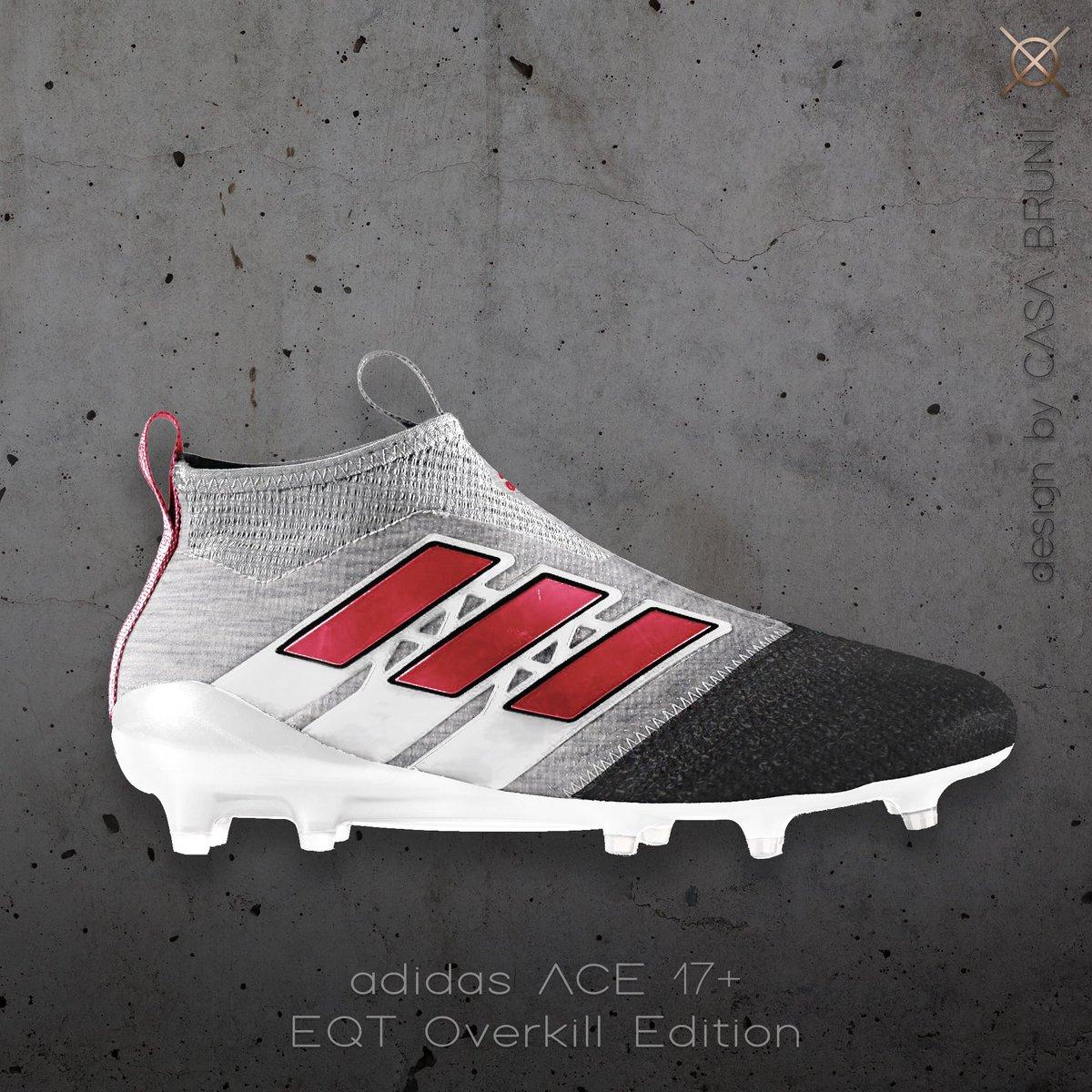 Adidas ACE 17+ /// EQT Overkill Edition  #HereToCreate #NeverFollow #adidasfootball #adidasACE<br>http://pic.twitter.com/UAucMXCNZe