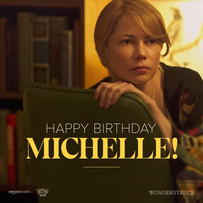 Happy birthday to Michelle Williams! May all your wishes come true.