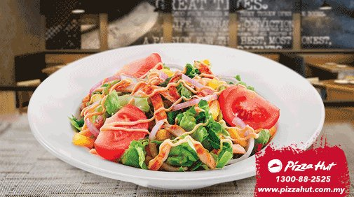 "Pizza Hut Malaysia on Twitter: ""Tengah mood nak eat healthy today"