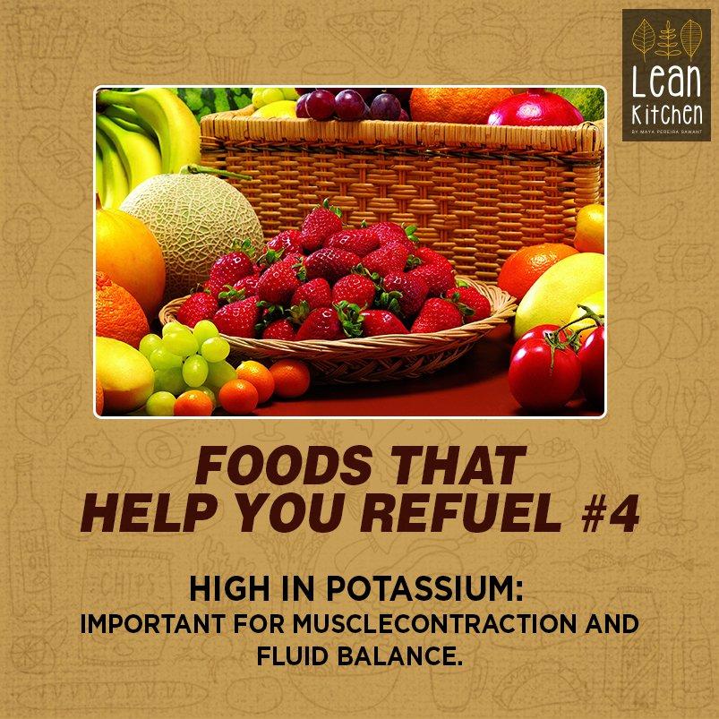 High in potassium list