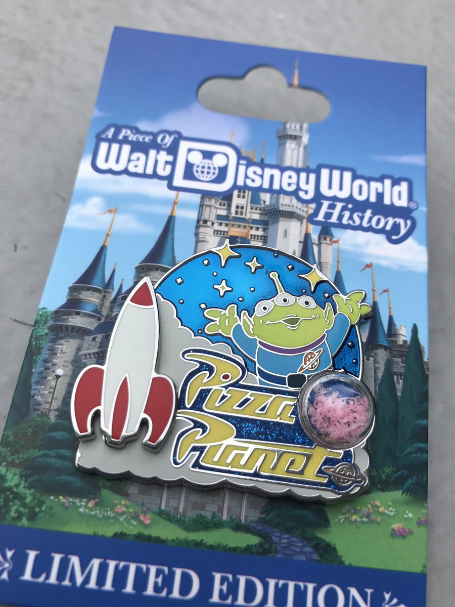 Wdw news today on twitter new piece of disney history pin features wdw news today on twitter new piece of disney history pin features a piece of the light fixtures from pizza planet arubaitofo Choice Image