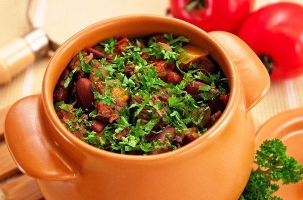 Вторые блюда блюда в горшочке рецепты
