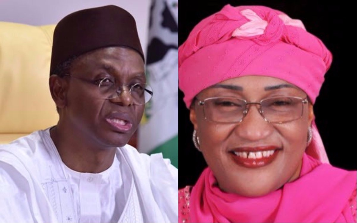 Women Affairs Minister, Jummai Alhassan threatened to expose Governor El-Rufai and tell the world of his role in the kidnapping of the Chibok girls.