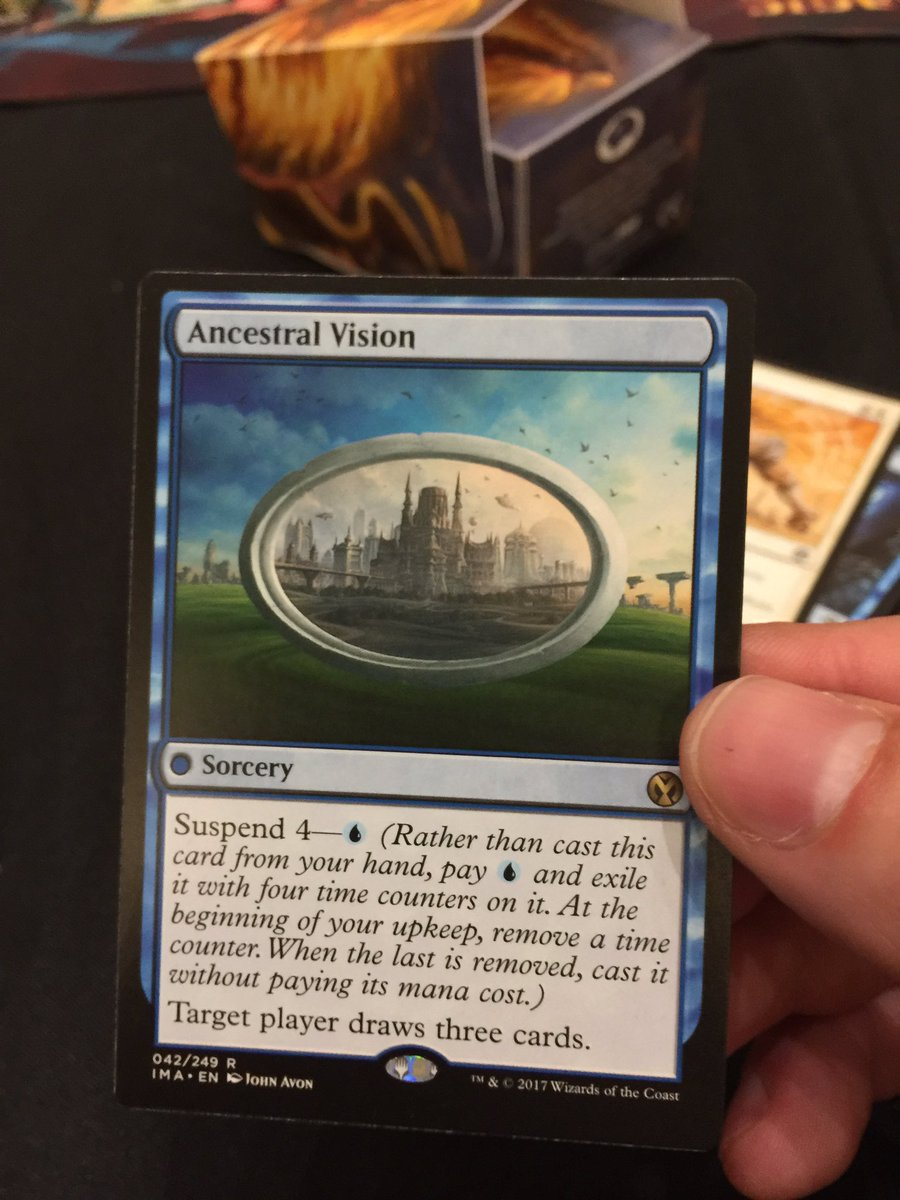 I can't recall when we saw this last... #MTGIMA https://t.co/BibN1JwkTH
