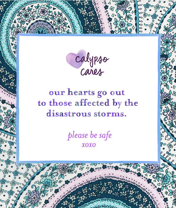 Be well and be safe xx #CalypsoCares https://t.co/ini4Osv87J