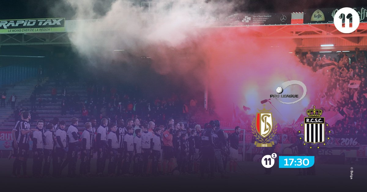 Things tend to heat up when Standard and Charleroi meet. Follow it on Proximus TV. #stacha #pxs11 <br>http://pic.twitter.com/jKfWtyKxd7