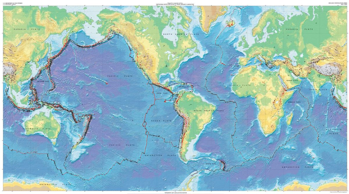 Media center on twitter irisepo rt usgspubs this dynamic media center on twitter irisepo rt usgspubs this dynamic planet world map of volcanoes earthquakes impact craters and plate tectonics by usgs gumiabroncs Images