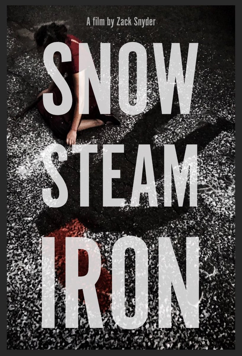 What can you do with your talented friends & family, no money and a weekend? #SnowSteamIron #ShortFilm #ComingSoon