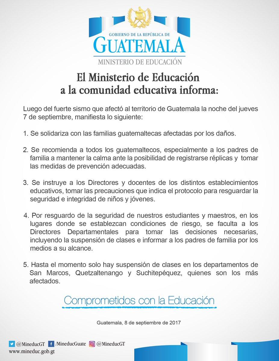 Mineduc Guatemala on Twitter: \