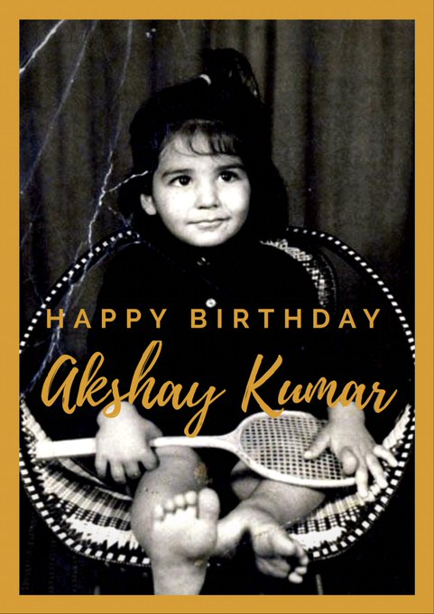 Happy Birthday Akshay Kumar ... Greetings from Israel