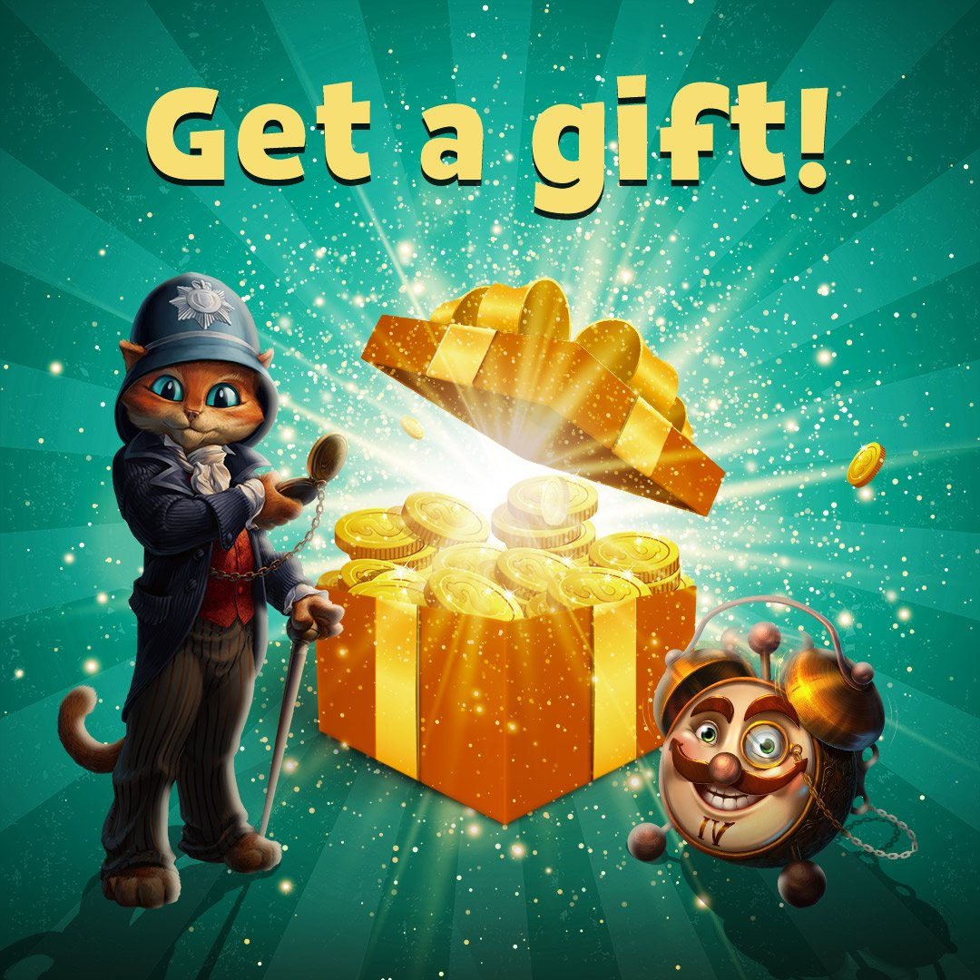 Friday bonuses await! Quick, get your gifts and celebrate the weekend! 📲❤️➡️ https://t.co/INemo8cuCd https://t.co/ob4Dh2heOV