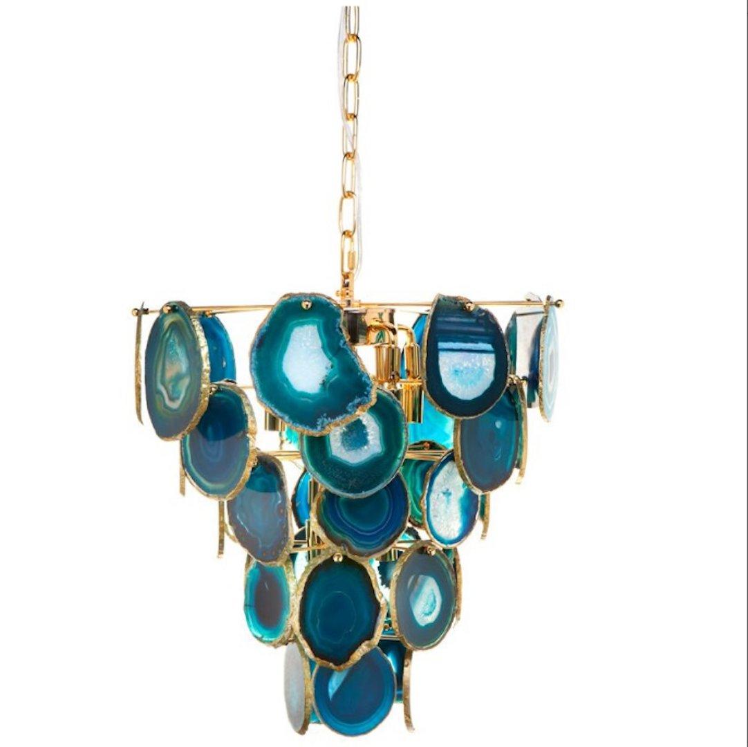Looking chandelier