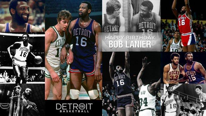It\s a big day for birthdays.  Happy Birthday Bob Lanier!