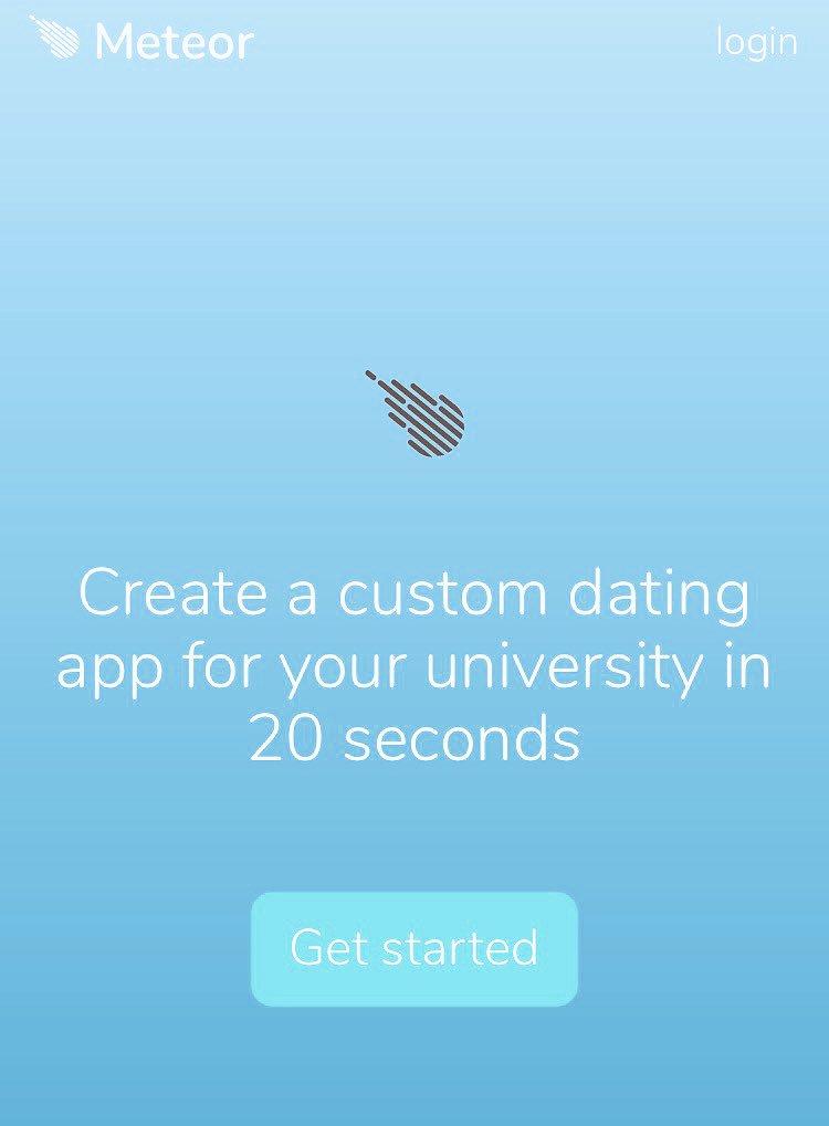 University dating advice