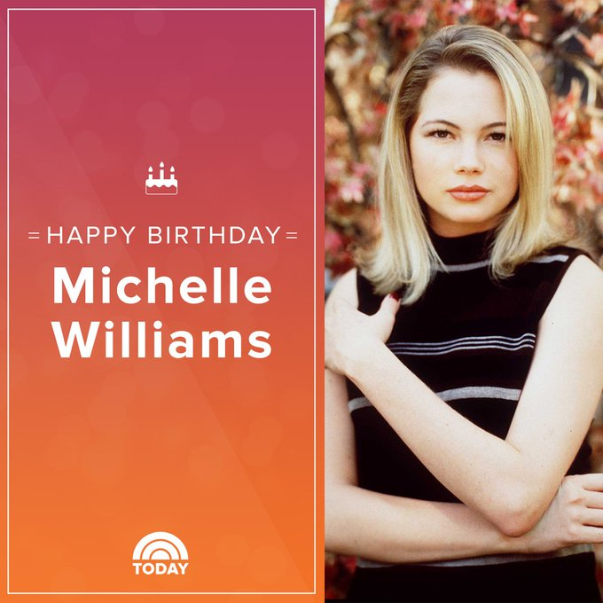We don\t want to wait ... to wish Michelle Williams a happy birthday!