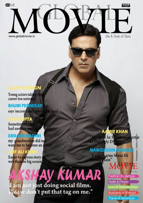Happy birthday dedicated to my inspiration khiladi Akshay Kumar