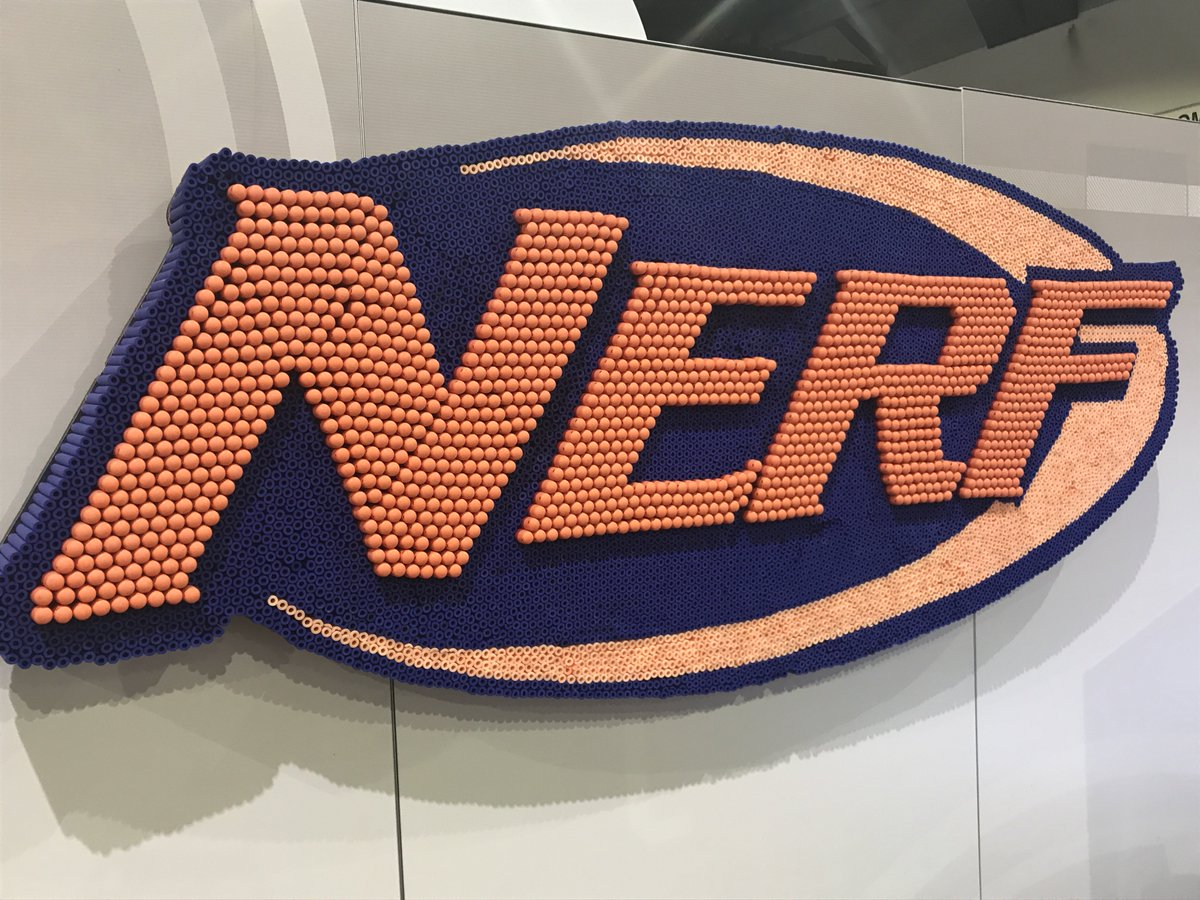 it s nerf or nothin at hascon 1200 blasters 15 000 darts and