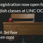 Registration now open for English classes. All levels, full & part time classes, evening childcare available https://t.co/2mxo60jBkq #ESL