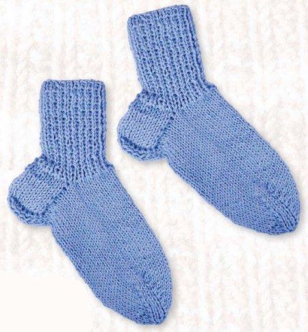 Вязание для новорожденных спицами с описанием и схемами