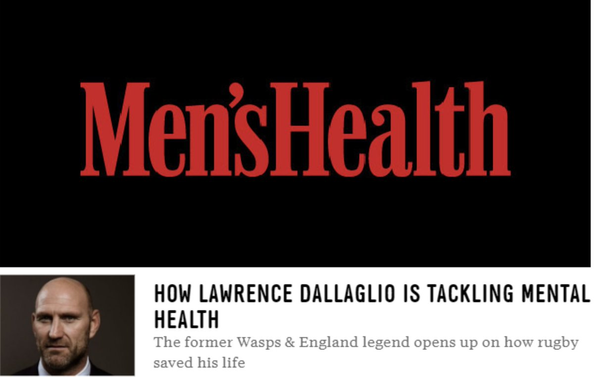 How Lawrence Dallaglio is tackling mental health