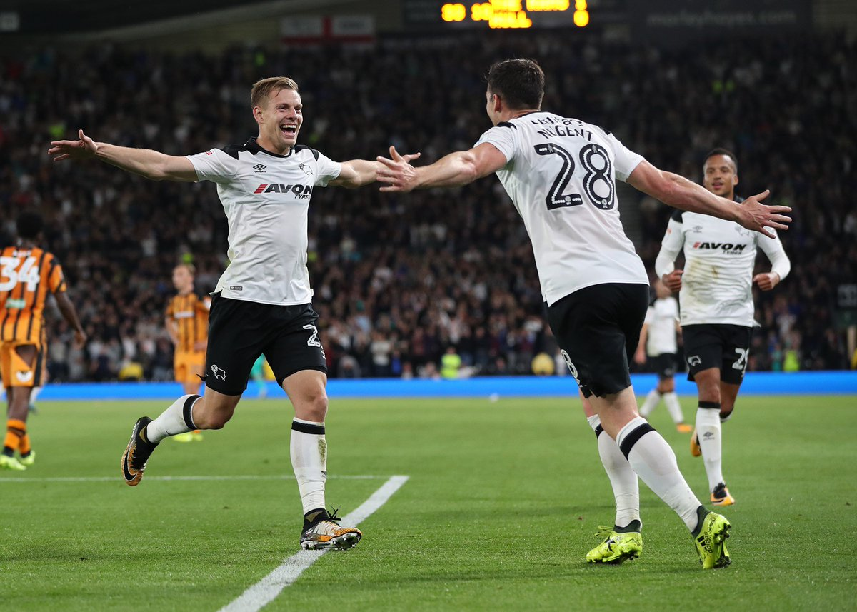Derby County 5-0 Hull City Highlights