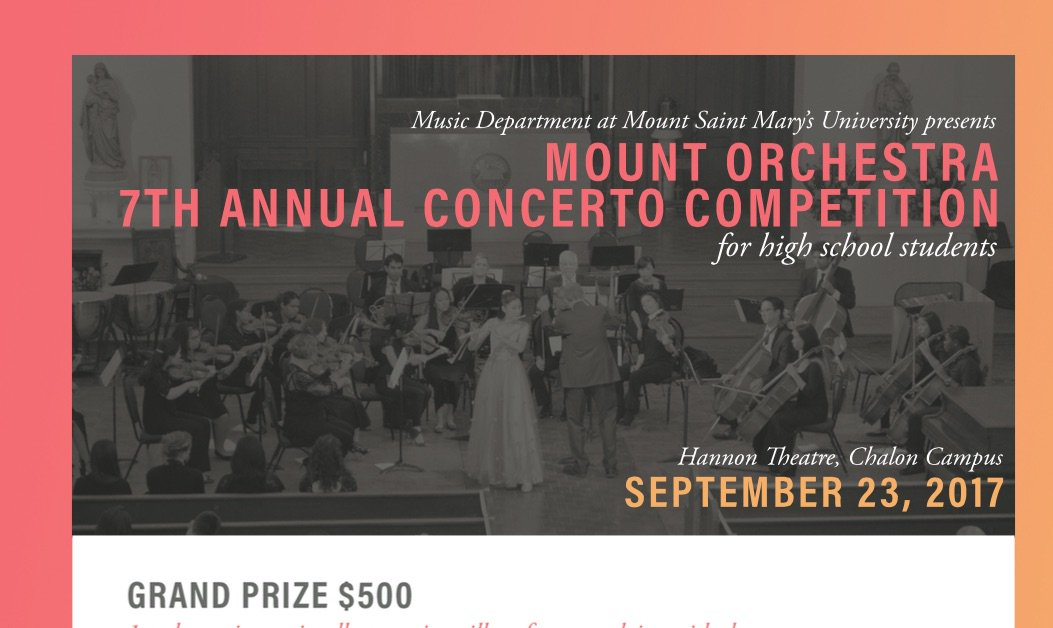 Registrations sill accepted for this year&#39;s HSchool competition at MSMU.  https://www. msmu.edu/undergraduate- bachelor-programs/music/mount-orchestra-competition/#Concerto &nbsp; …  #highschool #orchestra <br>http://pic.twitter.com/0eMwIOcVEd