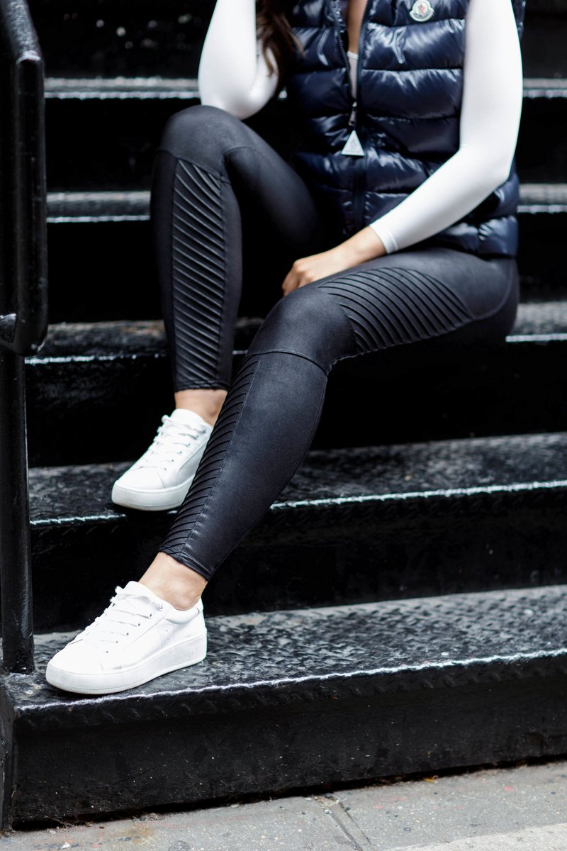 Image result for spanx moto leather leggings