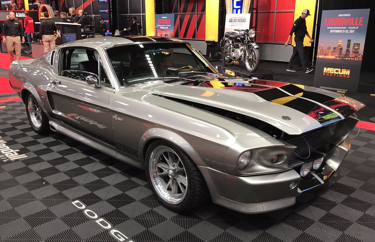 This 1968 ford mustang fastback is heading to a new home mecumdallas dallas wherethecarsarepic twitter com bcmgzihca6