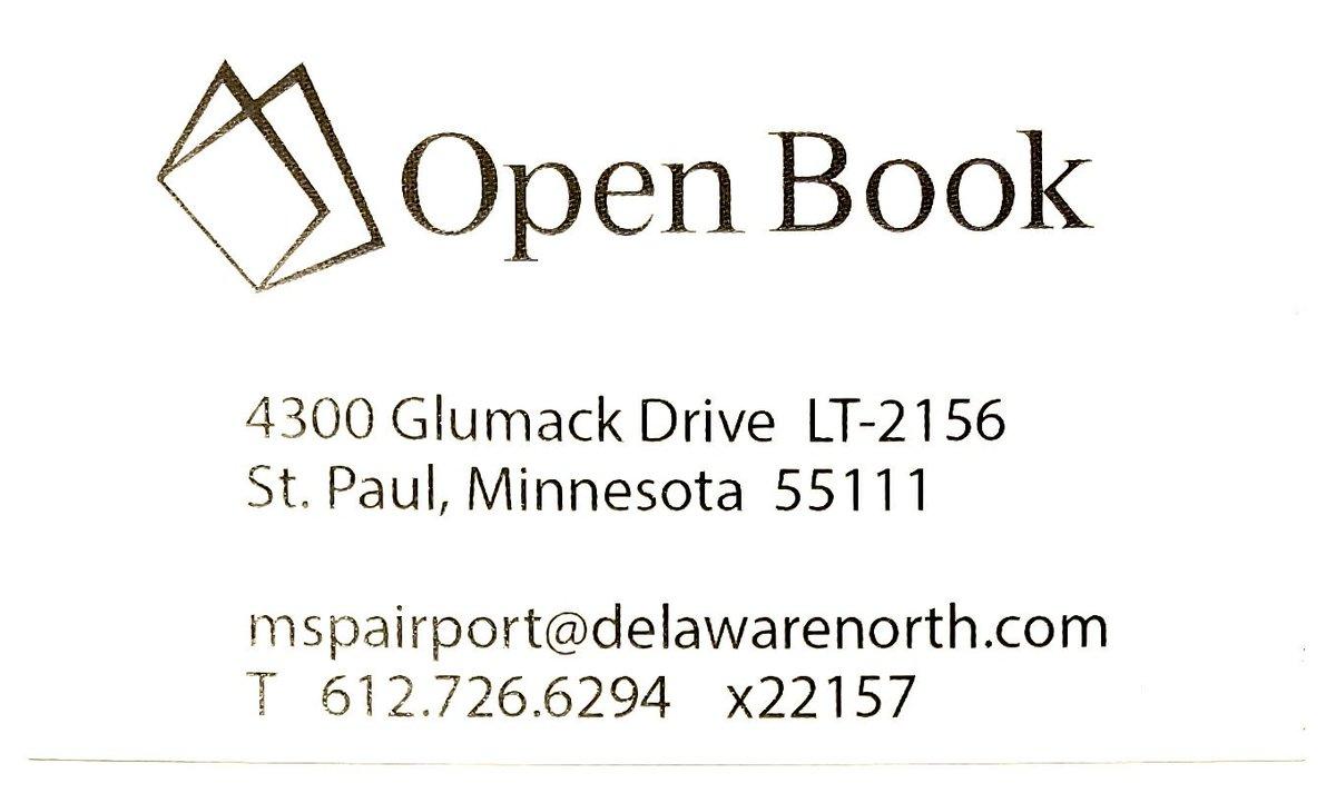 Open Book At MSP (@openbookatmsp) | Twitter