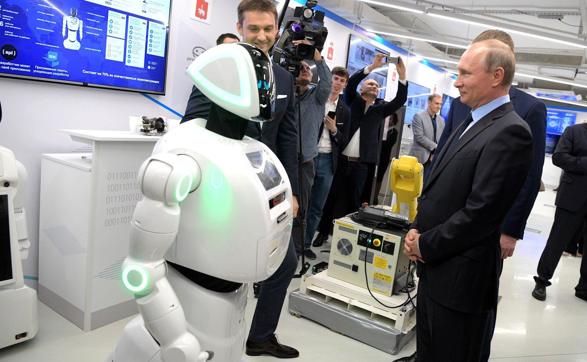роботы российской разработки отдых