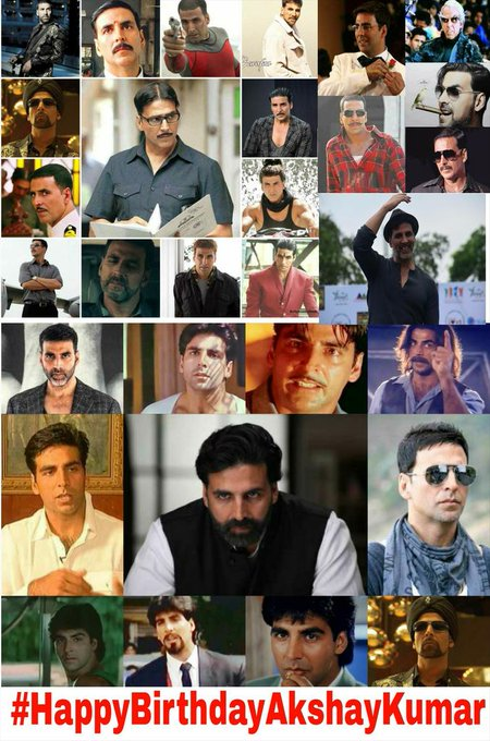 Happy Birthday Akshay Kumar -