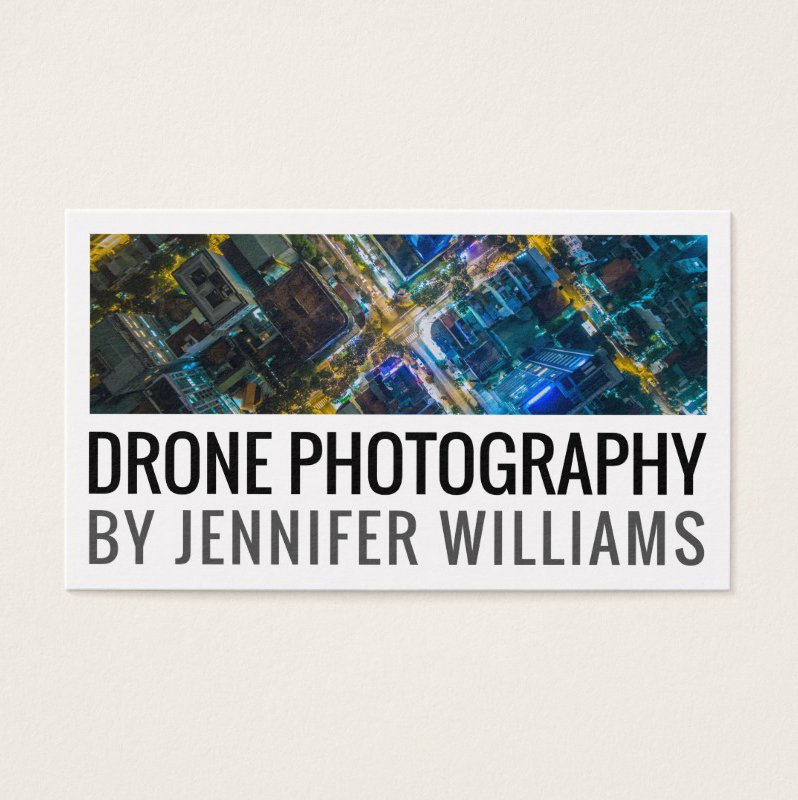 Bold Aerial Drone Photography