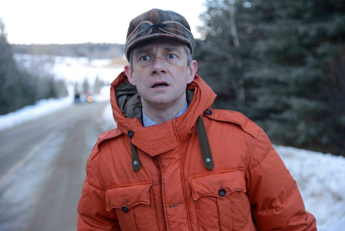 Happy Birthday, Martin Freeman. Hes a darn good fella. #Fargo