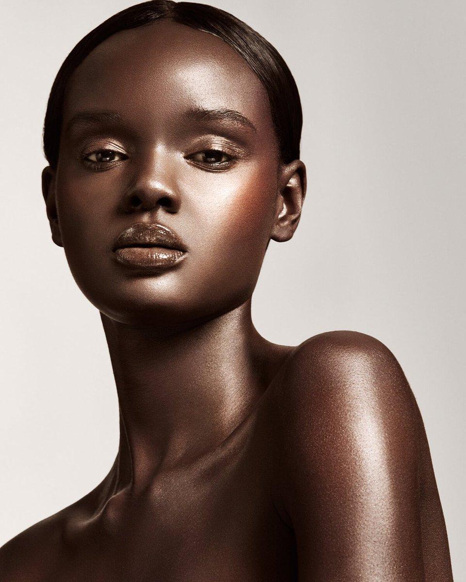 African Beauty: Duckie Thot For Fenty Beauty #nyfw