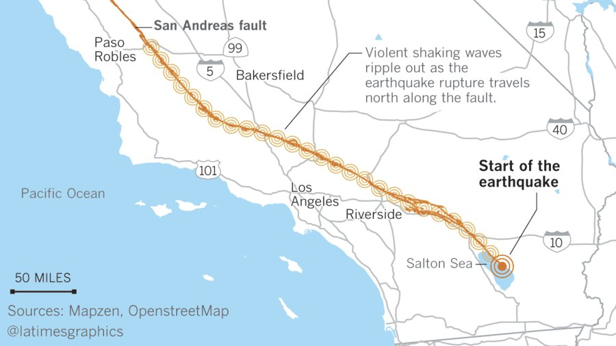 California could be hit by a 8.2 mega-earthquake, and damage would be catastrophic https://t.co/OBsu0R1X4K