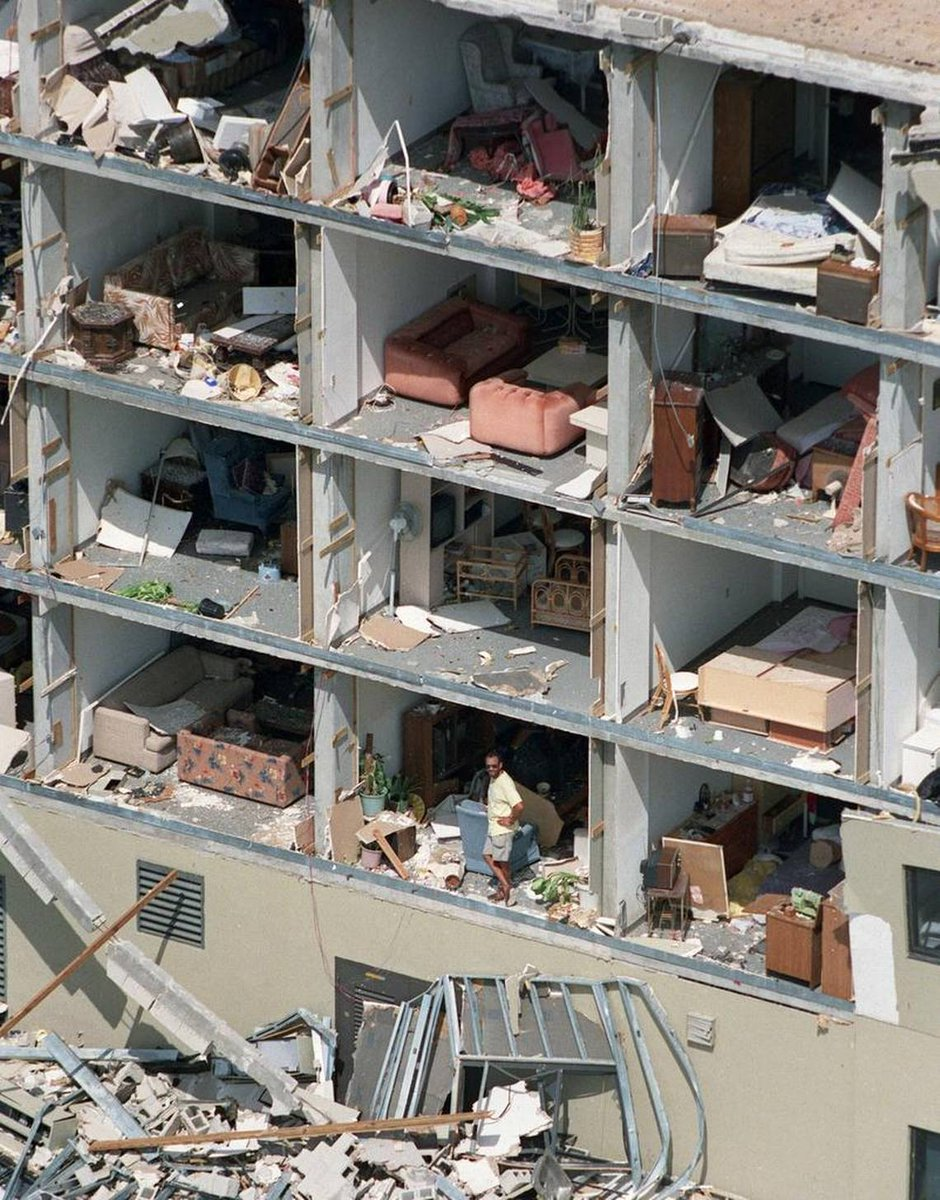 After Hurricane Andrew in 1992.