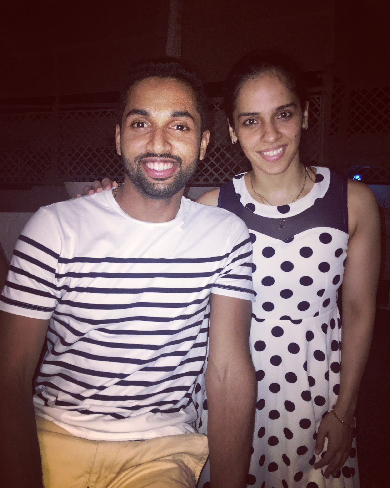 "PRANNOY HS on Twitter ""Twinning Seriously 🤔🤔😋😋 NSaina"