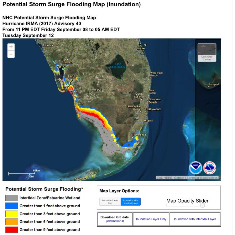 #stormsurge threat growing for #SW #florida #naples #fortmyers #marcoisland #irma
