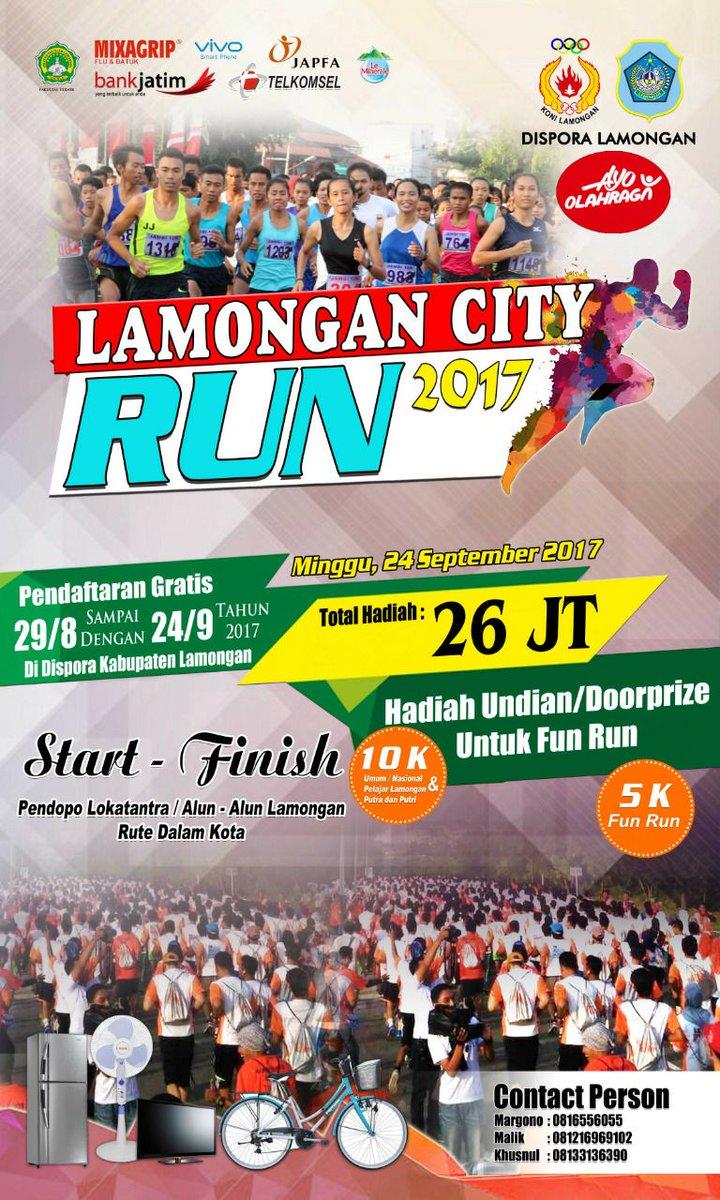 Lamongan City Run • 2017