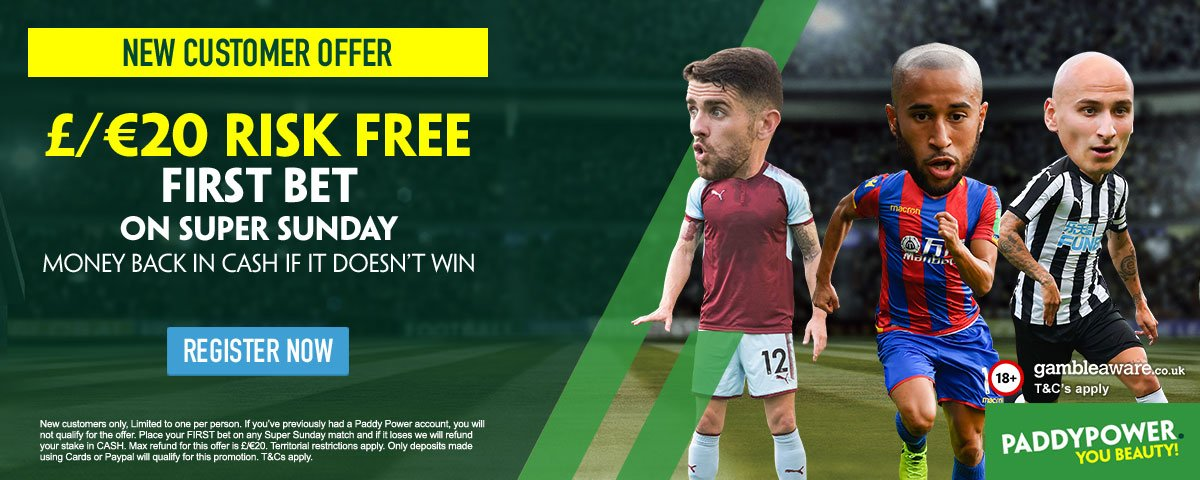 Paddy Power Risk-Free Bet