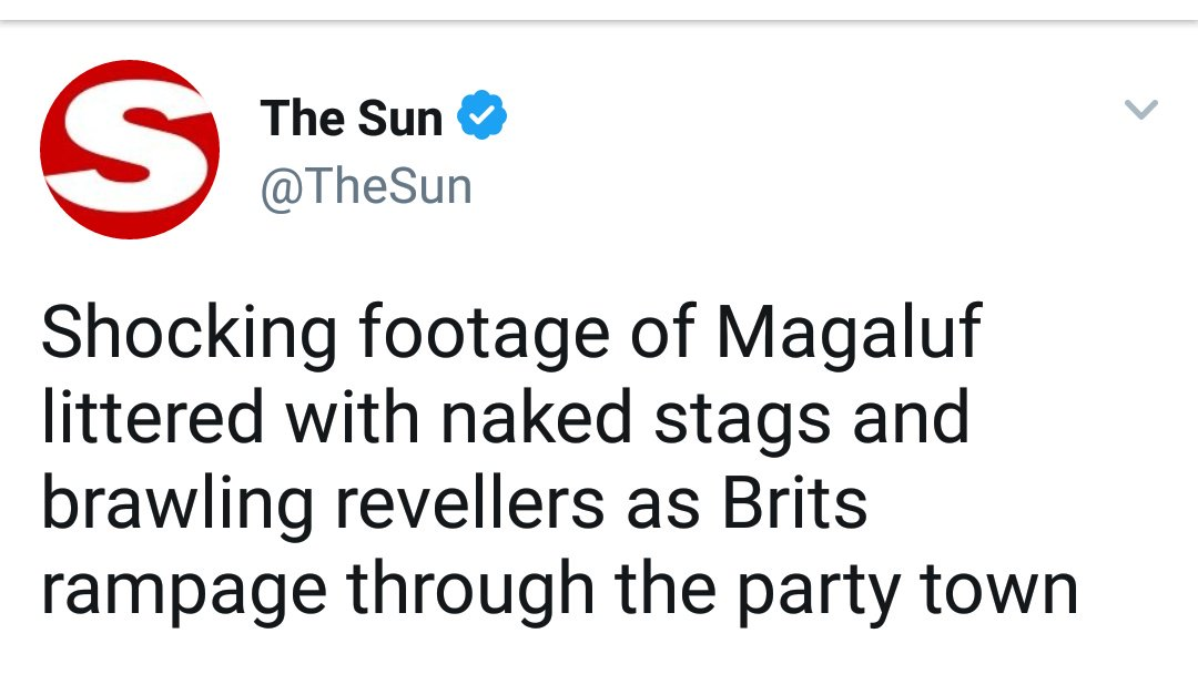 The Sun Apologies On Twitter Suck It Up HttpstcohjTuTrmm - 13 ridiculous tweets boozy brits magaluf