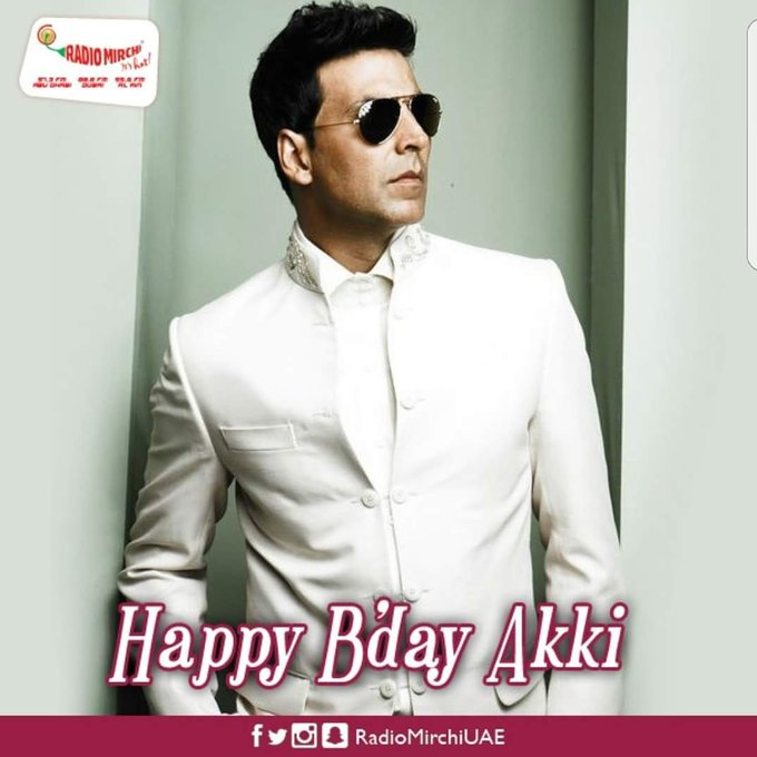 Happy Birthday to the Khiladi of Bollywood - Akshay Kumar