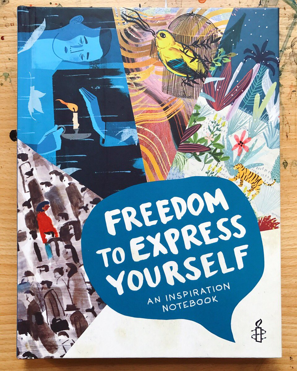 Image result for Freedom to Express Yourself: An Inspiration Notebook by Amnesty International
