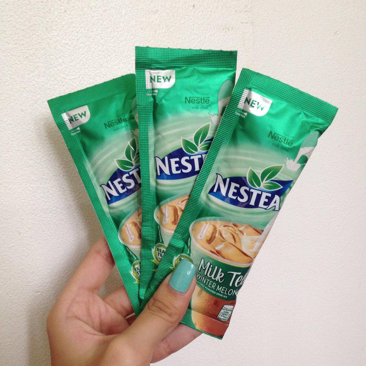 nestea's wintermelon milk tea has me SHOOKT & it's for 9 pesos only???! https://t.co/ueRjLlXQdK